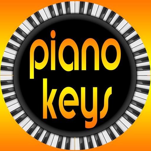 Piano Keys Custom Keyboard