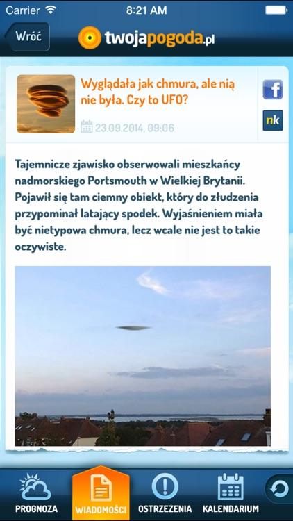 TwojaPogoda Free screenshot-4