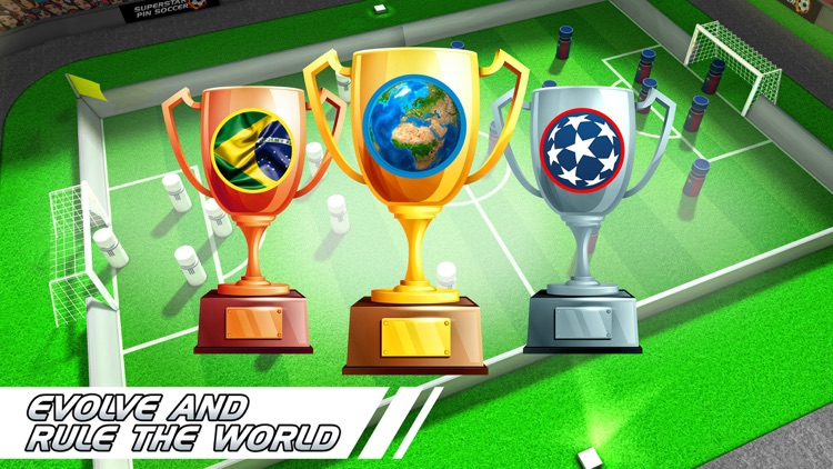Superstar Pin Soccer - Table Top Cup League - La Forza Liga of the World Champions screenshot-4