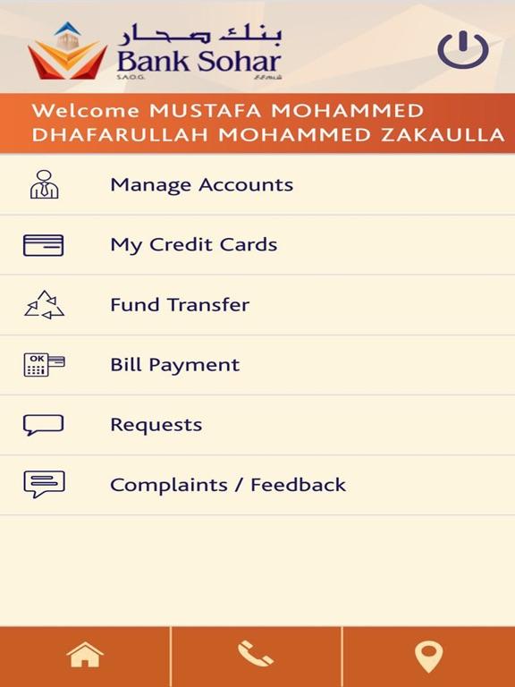 Bank Sohar Mobile Banking-ipad-0