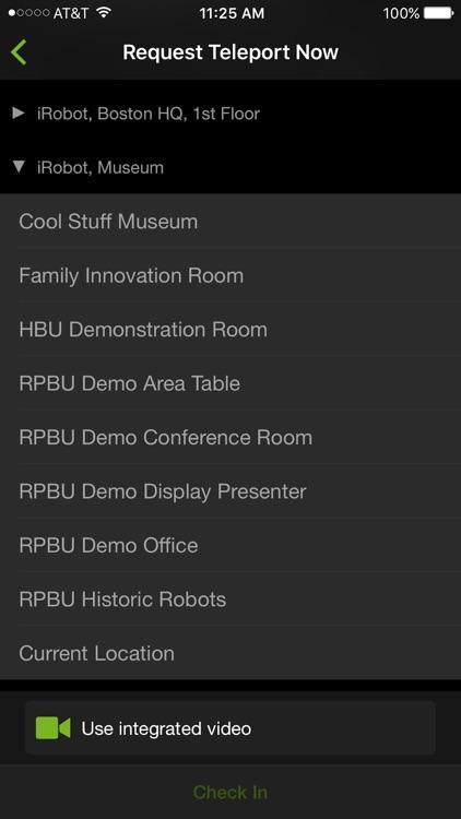 iRobot Ava Control App