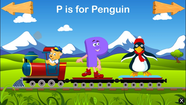 Alphabet Train For Kids - Learn ABCD screenshot-4