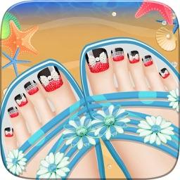 Foot Spa Salon - Kids Games