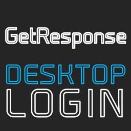 DESKTOP LOGIN for GetResponse