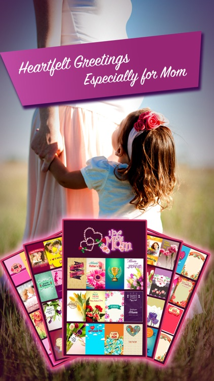 Mother's Day Photo Frame and Greeting Cards