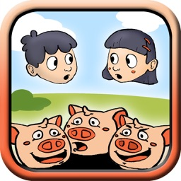 Your story with the Three Little Pigs – Interactive tales for kids