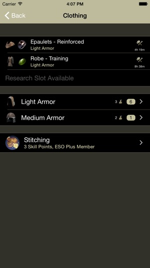 Eso workbench on the app store screenshots forumfinder Gallery