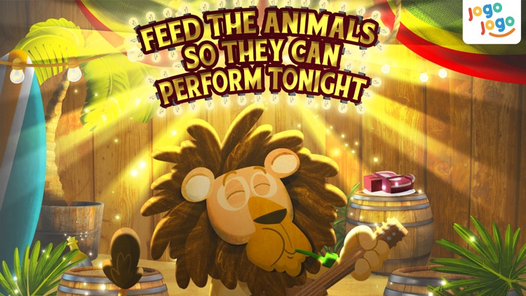 Jogo Circus Animals - Finishing your plate of food is fun! screenshot-3