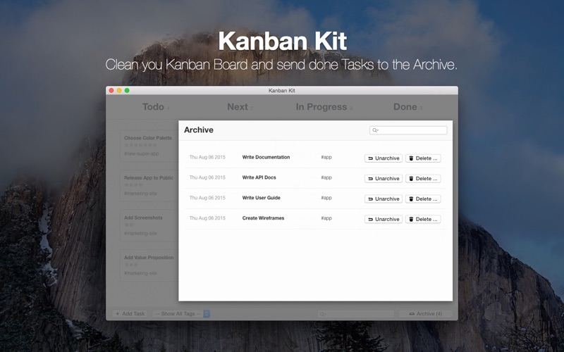 点击获取Kanban Kit