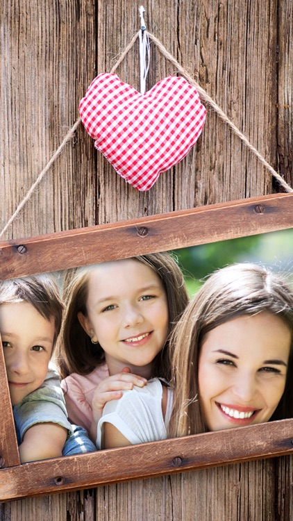 Mother's day photo frames greeting cards - Premium