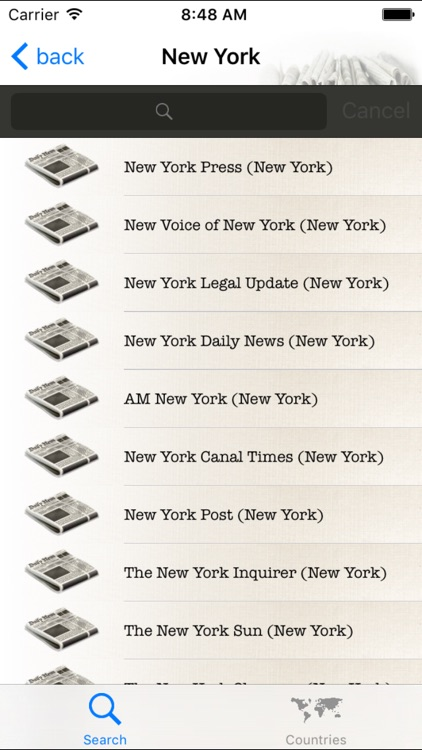 Newspapers Free ( newspapers and news from the world ) screenshot-3