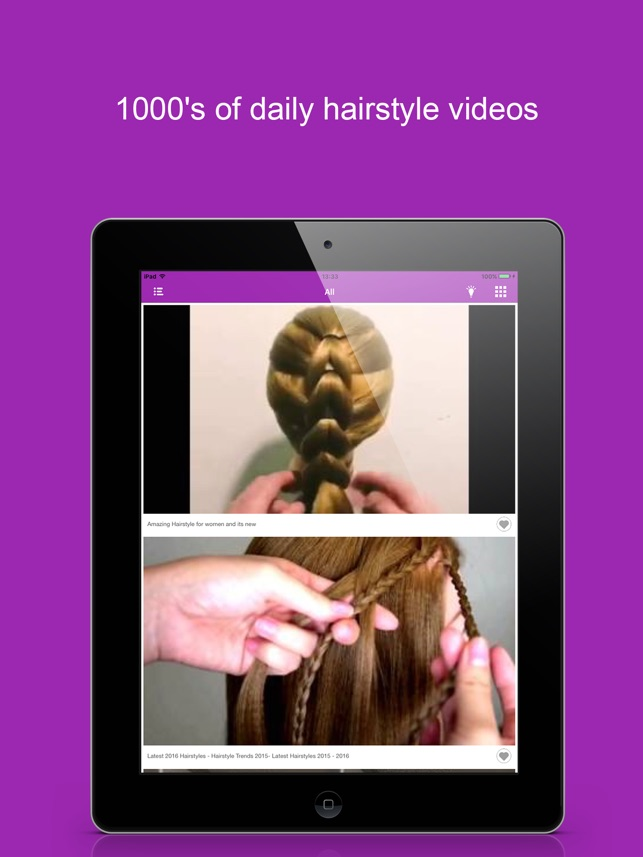 Daily Hairstyle Beauty Videos Women Makeup Lesson On The App Store