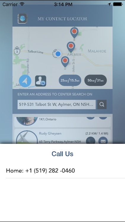 My Contact Locator screenshot-4