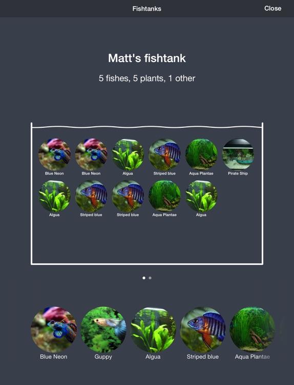 Aquarii - Easily track and manage your fishtank