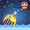 Angry Fishes and Owl
