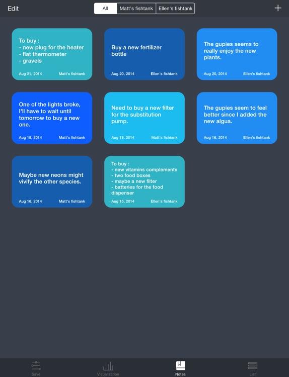 Aquarii - Easily track and manage your fishtank screenshot-3