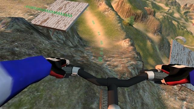 Mayhem Mountain Bike Downhill BMX Racing 2017 Screenshot