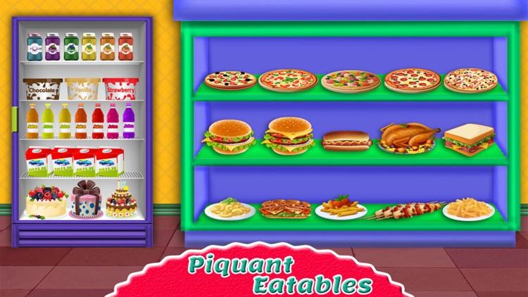 Supermarket Shopping Girl - top free time management cash register grocery shop games for girls screenshot-4