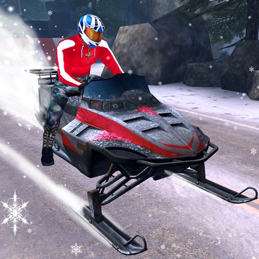 Arctic Snowmobile Racing - 3D eXtreme Winter Ice Trails Driving Edition Free icon