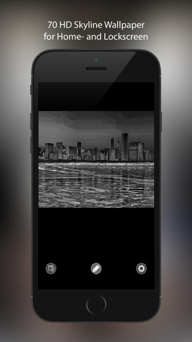 壁紙スカイラインhd ホームスクリーンとロック画面用の美しい都市の写真 Iphoneアプリ Applion