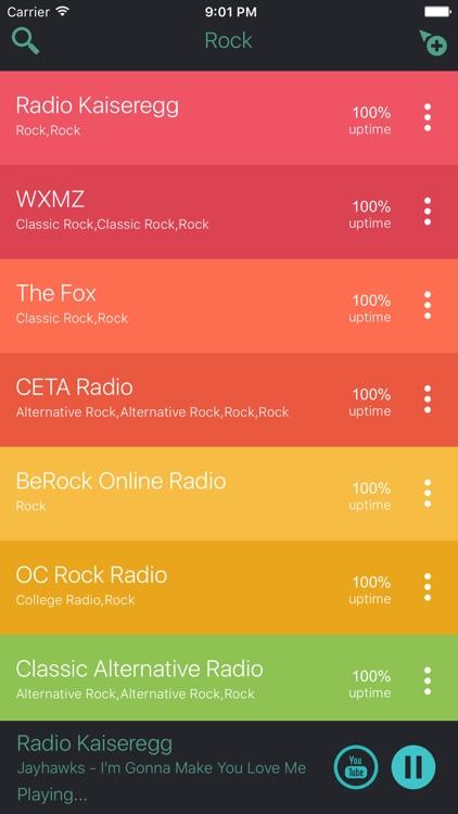 Classic Rock Music Radio Stations