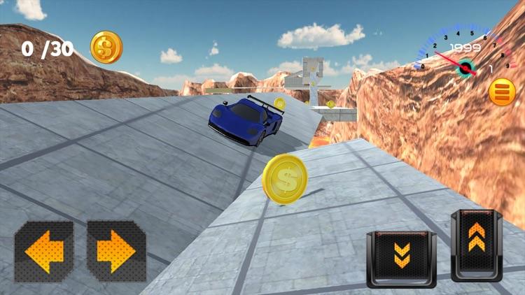 Hill Stunt Wheels 3D Speed Racing Car