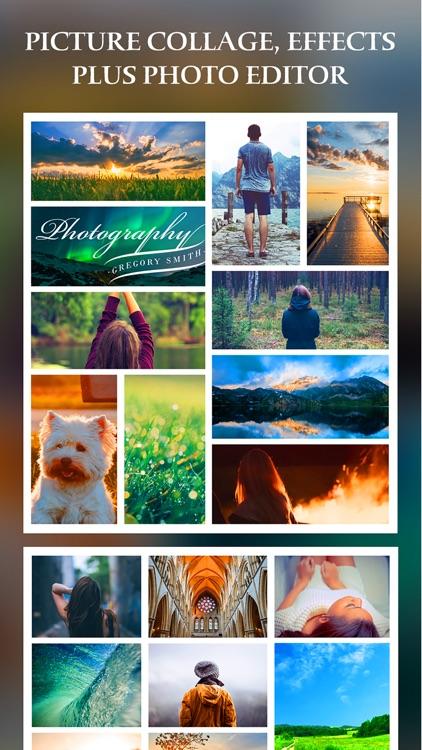 After Frame 365 Pro - Photo Collage Editor & Layout & beauty Camera & sticker screenshot-3