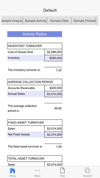 Financial Analysis screenshot-3