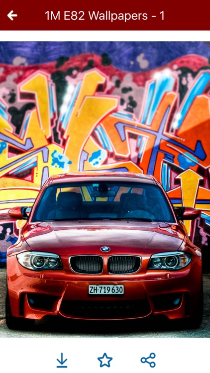 HD Car Wallpapers - BMW 1M E82 Edition screenshot-4