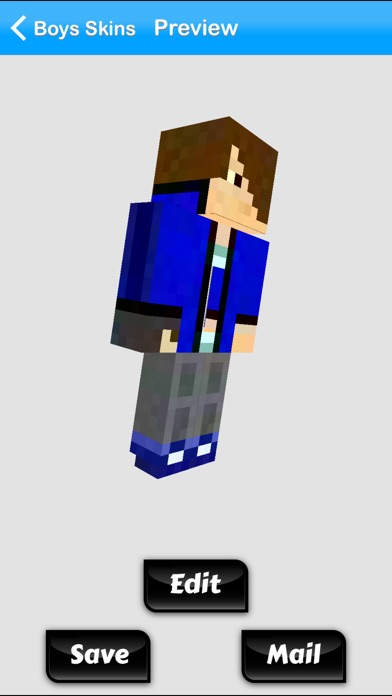Minecraft Pe Skins Boy