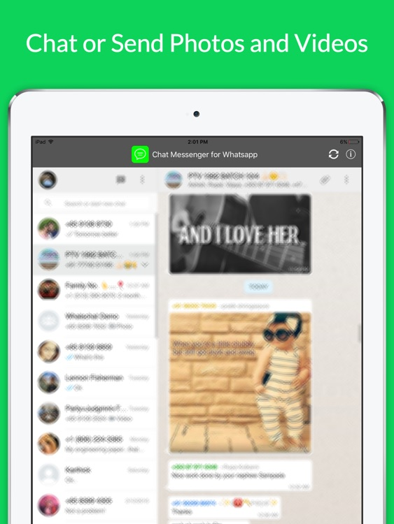 Messenger for WhatsApp - iPad Chat Version