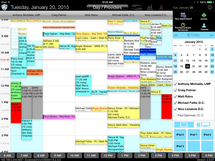 CT Scheduler Mobile 6.5
