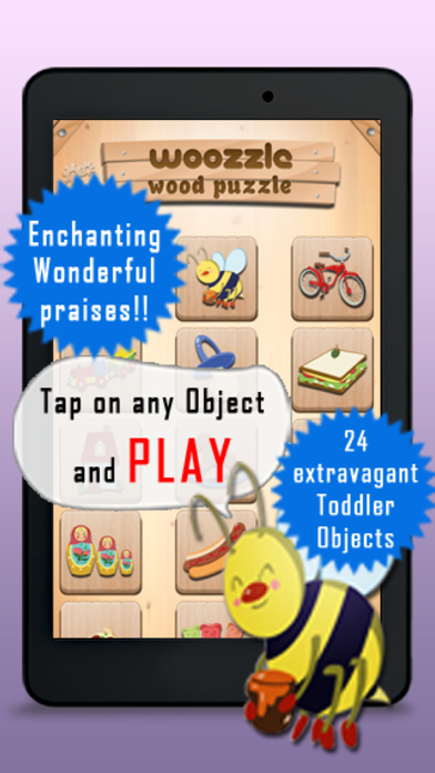Free Toddler Puzzle Woozzle Best Games for Child Brain Development screenshot one
