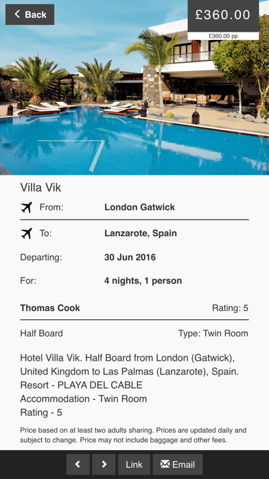 City Breaks Holidays and Boutique Hotels screenshot four