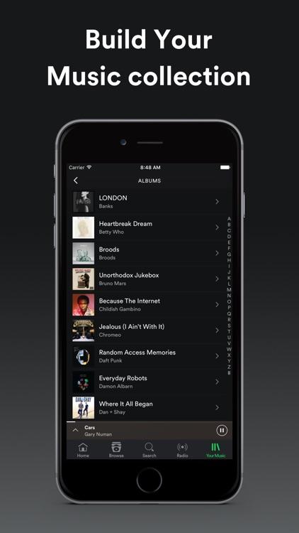 Spotify Music app image