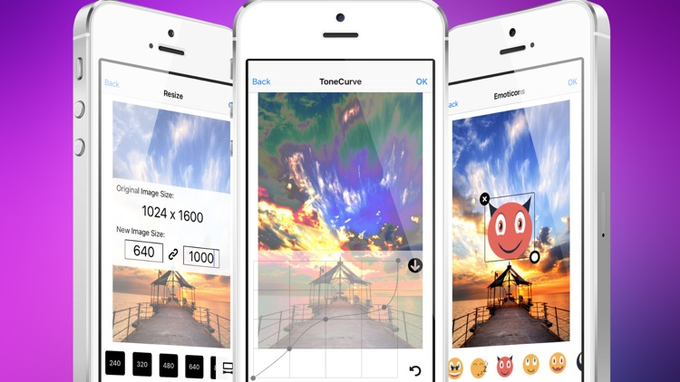 Photo Editor: Retouch Gallery/Camera Images with amazing filter effects and Save or Share it. screenshot-3