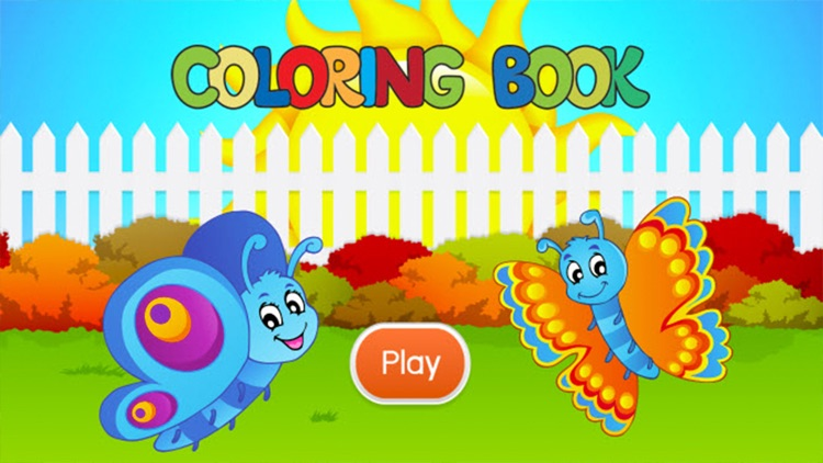 Insects Coloring Book - Drawing and Painting Colorful for kids games free