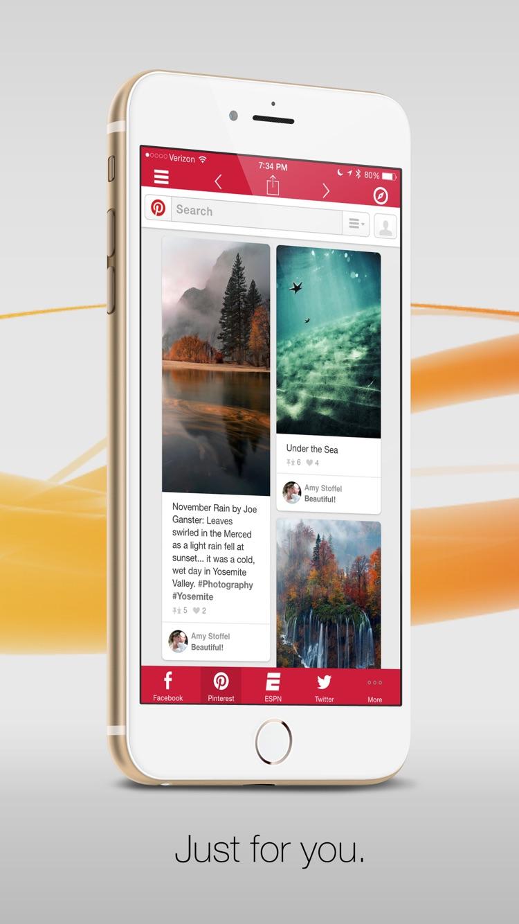 针对Google应用的G-Whizz! Plus - 排名第一的Google应用浏览器 Screenshot