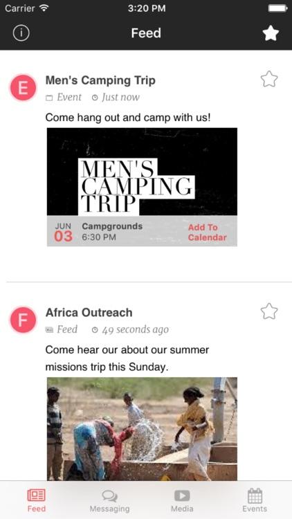 Fuse Church App