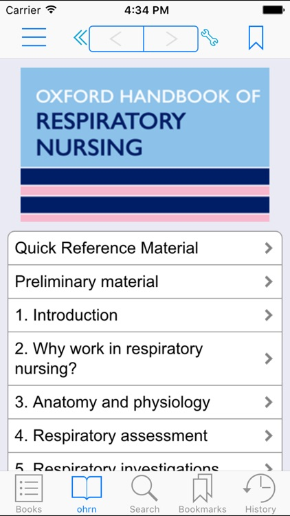 Oxford Handbook of Respiratory Nursing, 1st Edition screenshot-0
