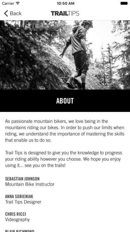 Trail Tips screenshot-4