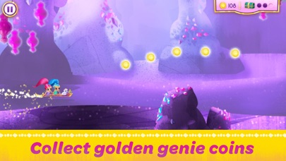 Screenshot for Shimmer and Shine:  Enchanted Carpet Ride Game in Singapore App Store