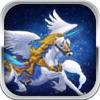 飞马骑士: 搏击长空遨游宇宙 飞行游戏简约而不简单