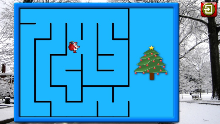 Kids Christmas Jigsaw Puzzle Shapes - educational game for preschool children 3+ screenshot-4