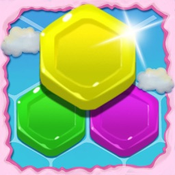 Jelly Crush Hexagon Puzzle Game