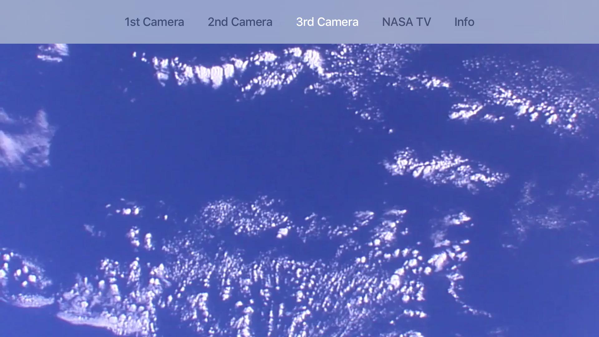 ISS live feed screenshot 2