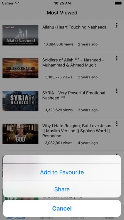 Islamic Videos screenshot-3