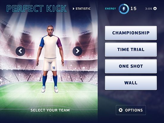 Игра Perfect FreeKick 3D - Top FreeKick Game
