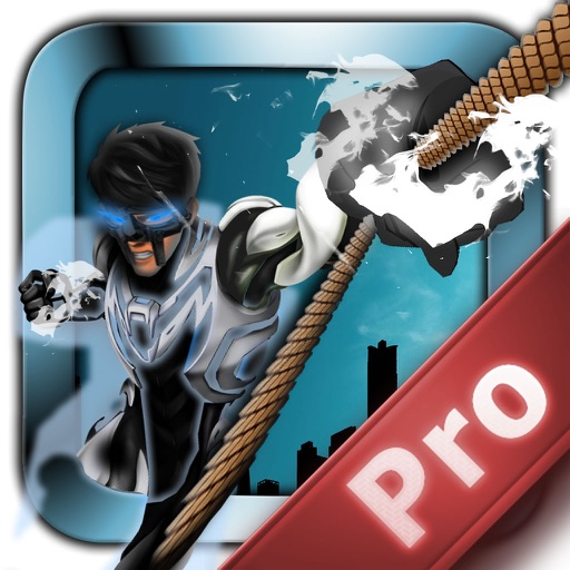 Metal Man Rope Pro - Jump and Fly to Save the City Streets