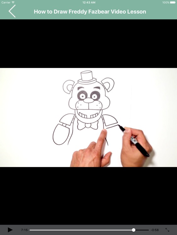 Draw FNAF Characters for iPad